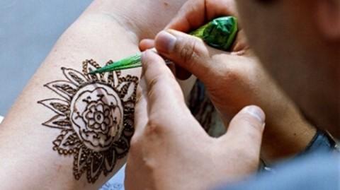 Татуировки хной в домашних условиях трафареты